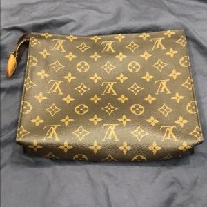 Authentic Louis Vuitton Make up bag/ clutch